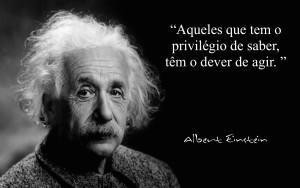 Albert Einstein - dever de agir